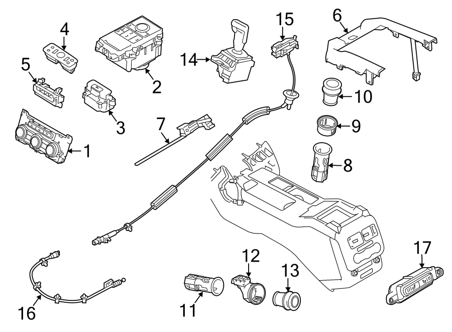 2015 Land Rover Range Rover Sport Cable. Automatic