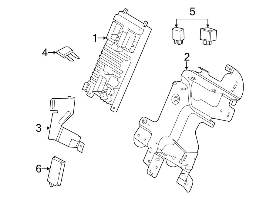 2015 Land Rover Range Rover Evoque Circuit breaker. Mini