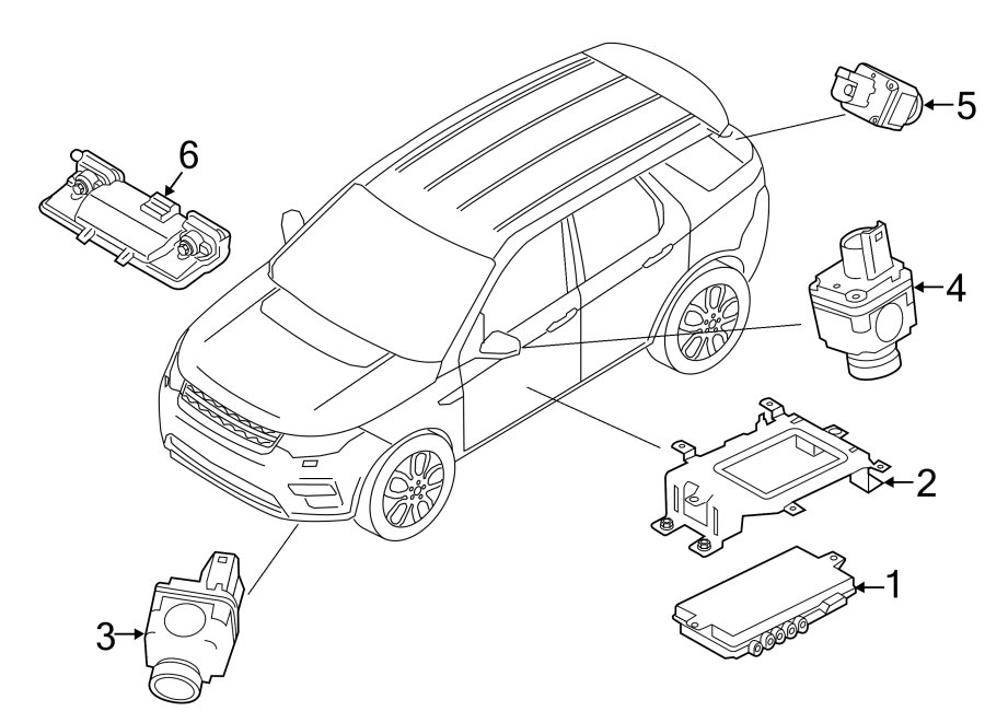 2018 Land Rover Discovery Sport Lane Departure System
