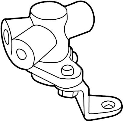 1995 Land Rover Range Rover Abs modulator valve. Range