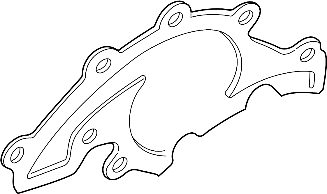 2000 Land Rover Range Rover Engine Water Pump Gasket