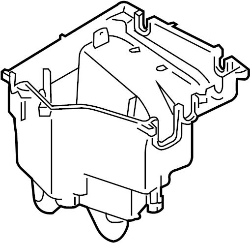 2008 Land Rover Range Rover Junction box. Lower housing