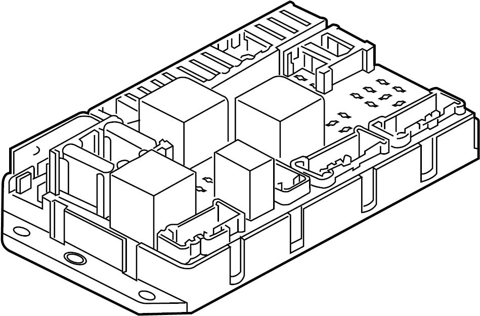 2006 Land Rover Range Rover Fuse Box. ENGINE COMPARTMENT