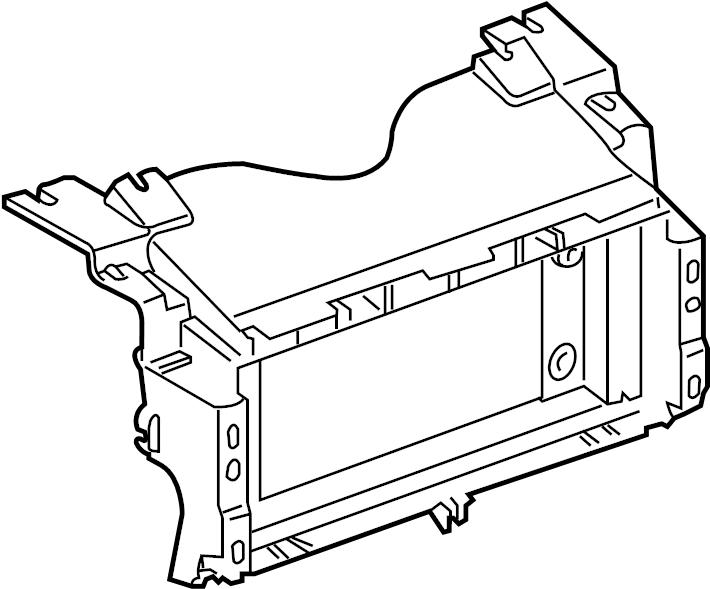 2006 Land Rover Range Rover Gps navigation system bracket