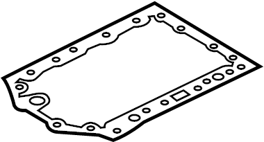 2017 Land Rover Discovery Engine Oil Pan Gasket. 3.0