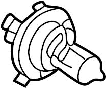 2003 Land Rover Freelander Headlight Bulb (Lower). 2002-03