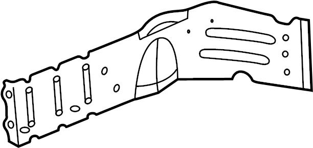 2004 Land Rover Freelander Fender Closing Plate (Upper