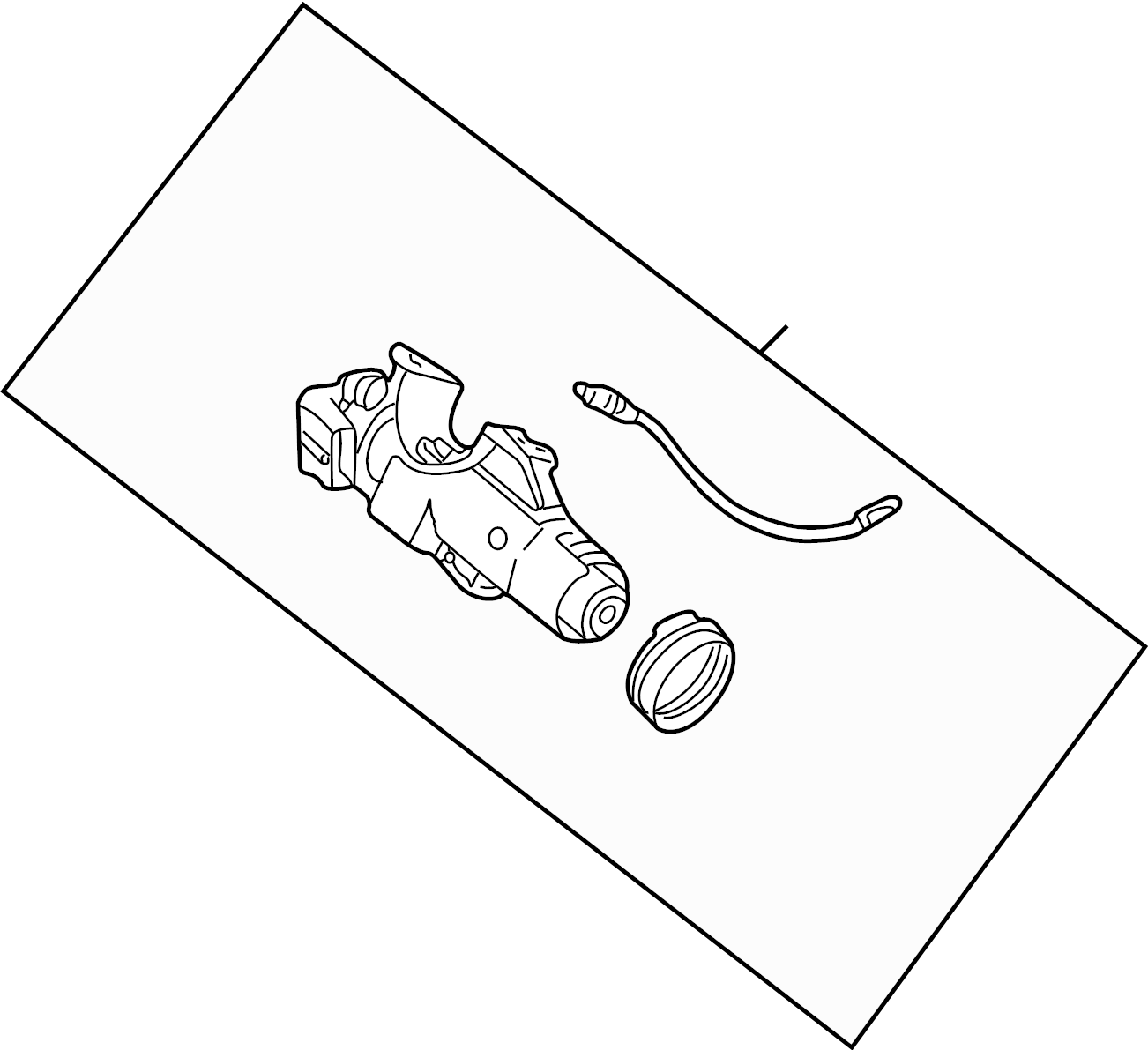 Land Rover Freelander Ignition Lock Assembly