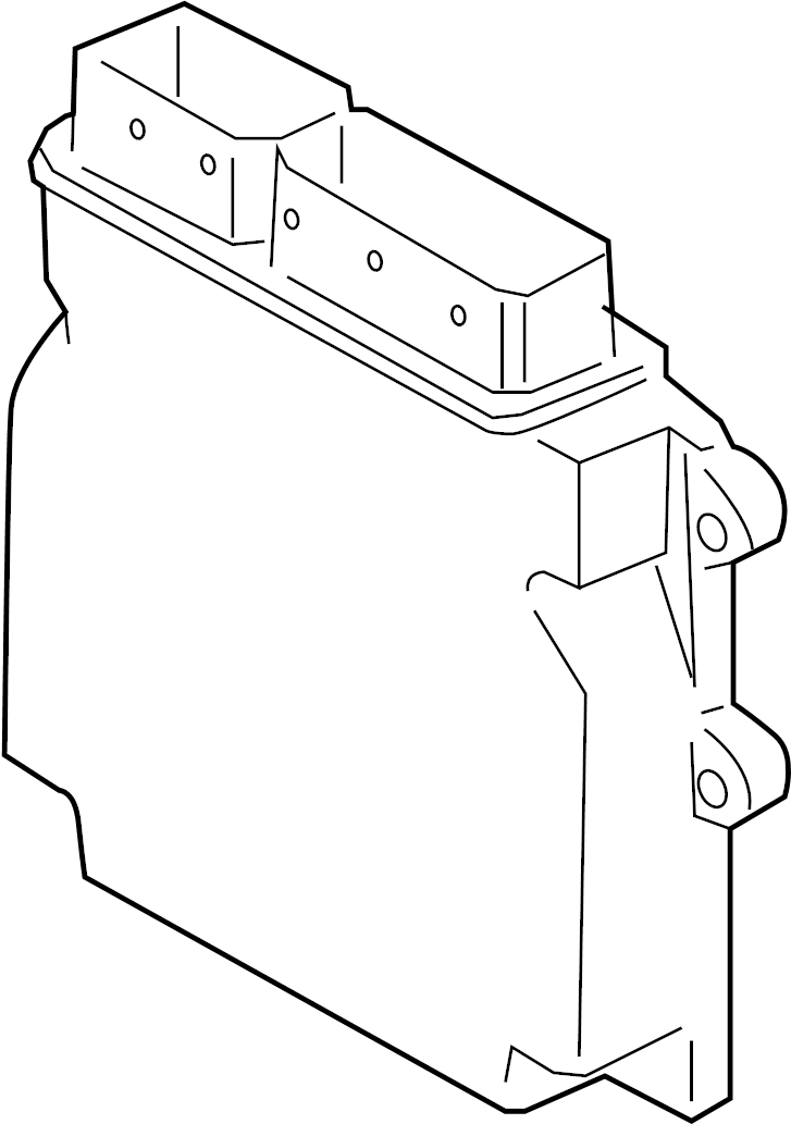 2007 Land Rover LR3 Engine Control Module. 4.0 LITER. LR3