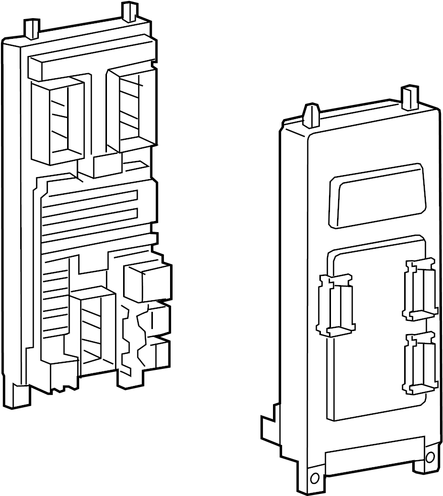2007 Land Rover LR3 Fuse Box. PASSENGER COMPARTMENT