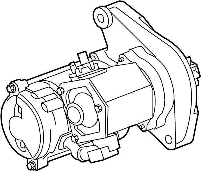 Land Rover LR4 Starter Motor. New, Range, Remanufactured