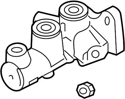 2012 Land Rover Range Rover Sport Brake Master Cylinder