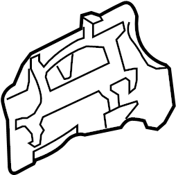 2008 Land Rover LR3 Shield. Heat. Catalytic Converter