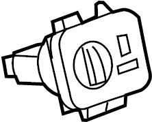 2009 Land Rover Range Rover Sport Headlight Switch
