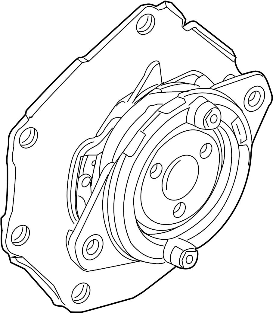 2008 Land Rover LR2 Water. Pump. Engine. 3.2 LITER. Incl
