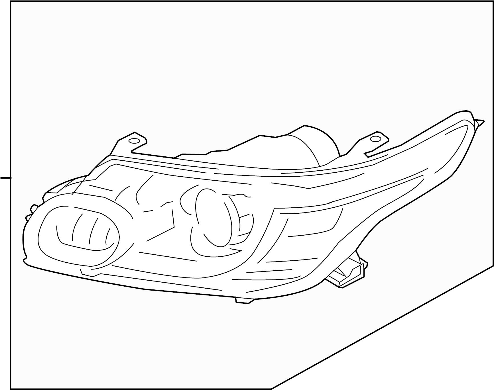 Range Rover Headlight
