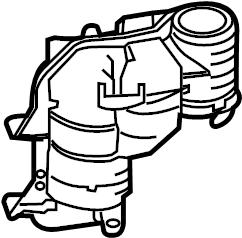 2018 Land Rover Range Rover Sport Engine Coolant Reservoir