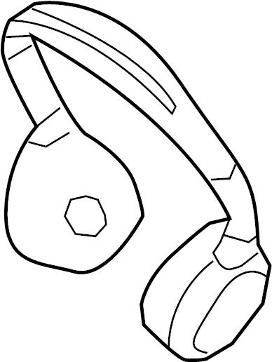 2013 Land Rover Range Rover Evoque Headphones. 2013-17
