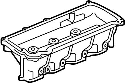 2018 Land Rover Range Rover Engine Intake Manifold