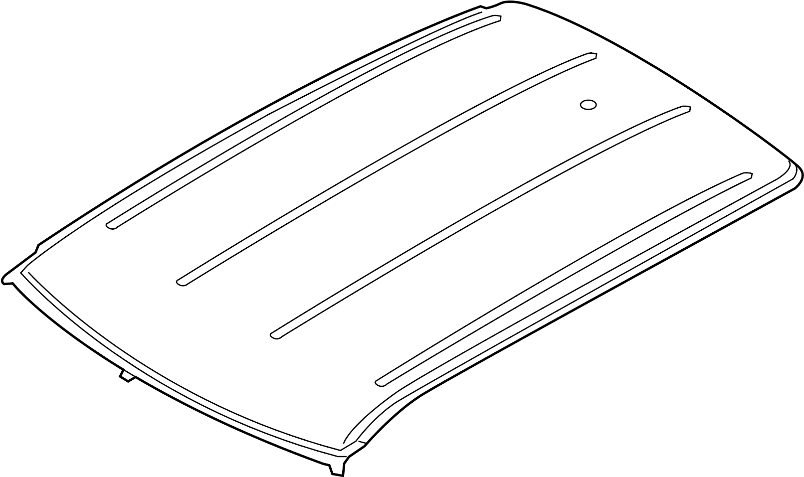Land Rover Range Rover Evoque Roof Panel Panoramic