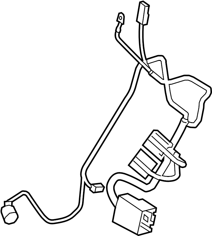 2015 Land Rover Discovery Sport Hvac system wiring harness
