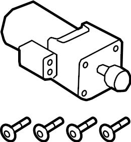 Land Rover Range Rover Sport Differential Lock Motor (Rear