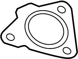 2016 Land Rover Range Rover Sport Gasket. Exhaust. Pipe