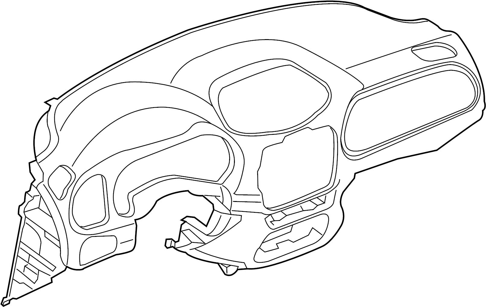 Land Rover Range Rover Velar Dashboard Panel Leather