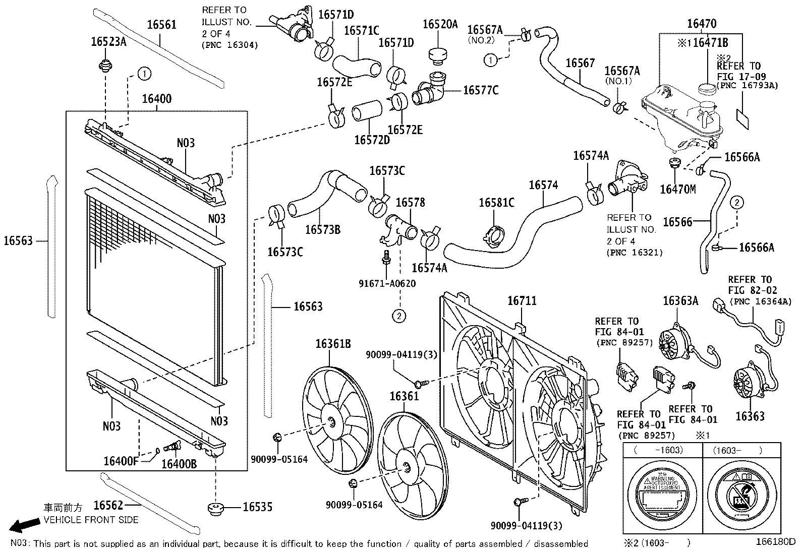 Lexus Rc 350 Radiator Assembly Intercooler Cooling