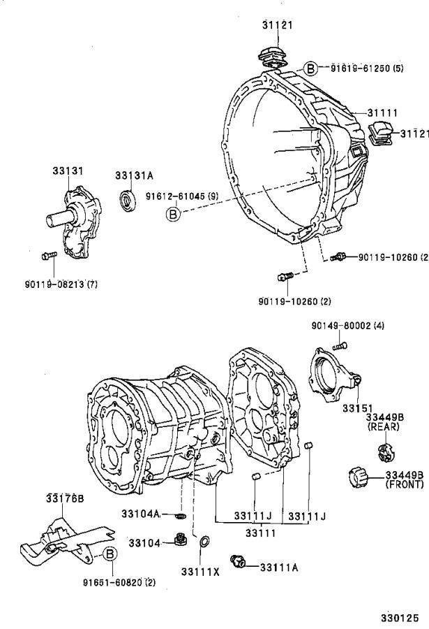 1996 Lexus Case, manual transmission. Mtm, driveline, gen