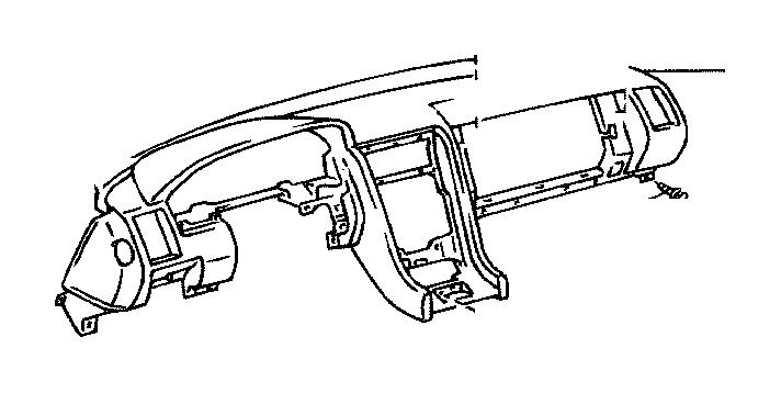 2002 Lexus Register assembly, instrument panel, no. 1