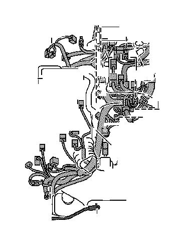2020 Lexus LS 460L Wire, engine, no. 5. Connector, seat