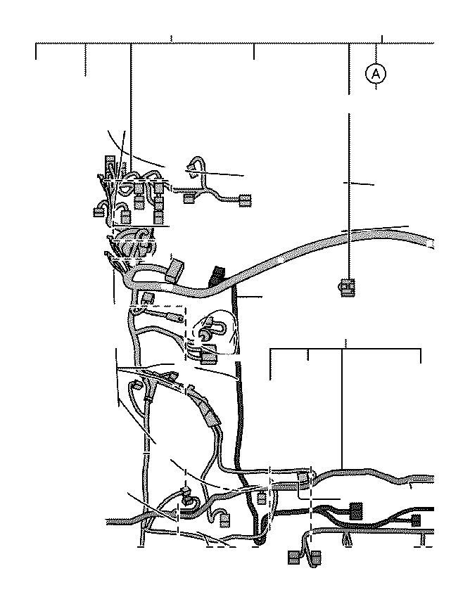 2019 Lexus Wire, engine room, no. 3. Clamp, connector