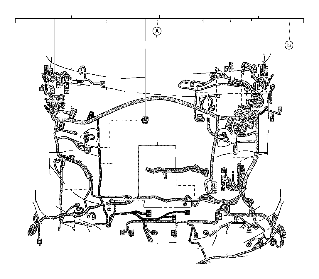 2019 Lexus Wire, engine room, no. 3. Clamp, connector