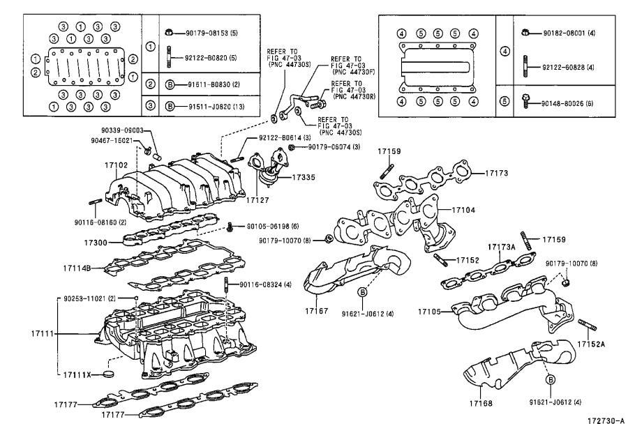 2004 Lexus Exhaust Manifold Heat Shield. Engine