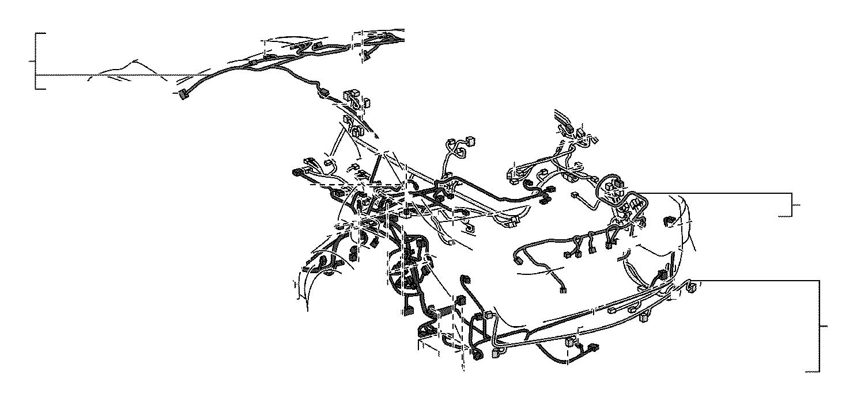 2014 Lexus Wire, roof, no. 1. Engine, room, connector