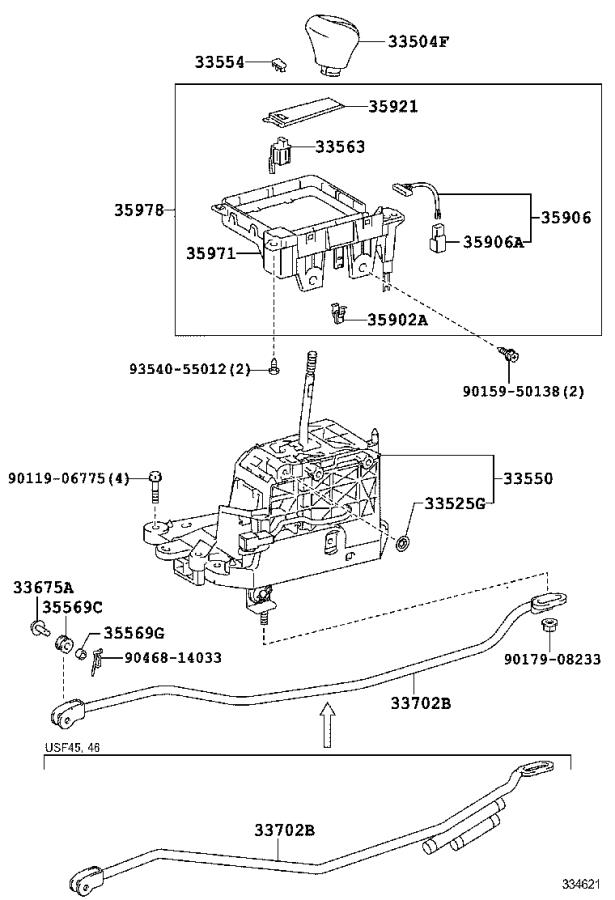 2020 Lexus Housing, connector male (for indicator lamp