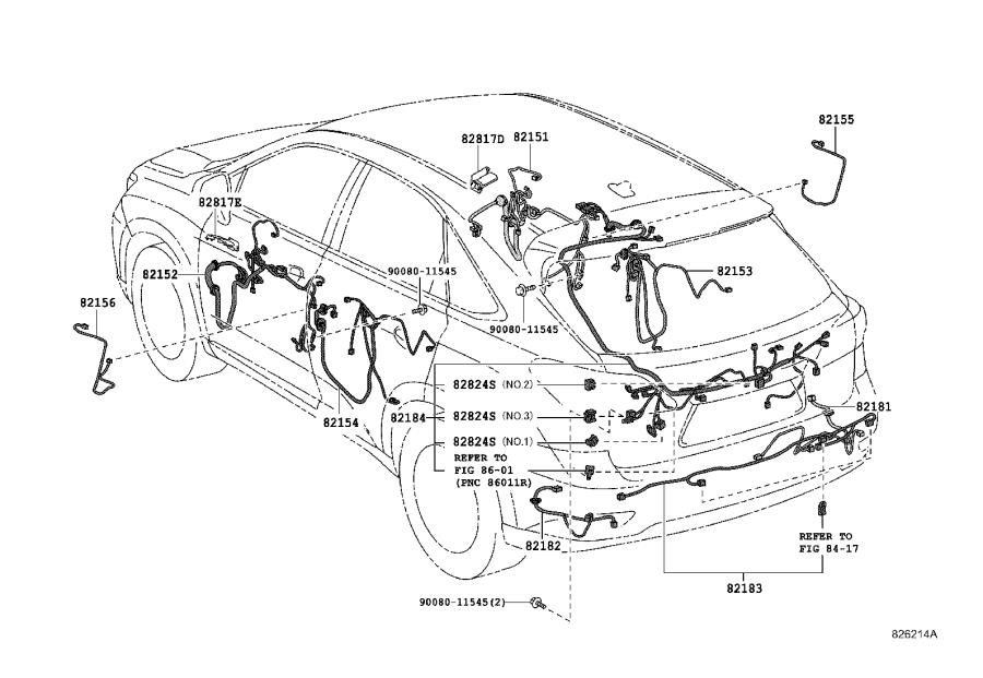 2000 Lexus Cap. Alternator terminal; terminal, no. 1