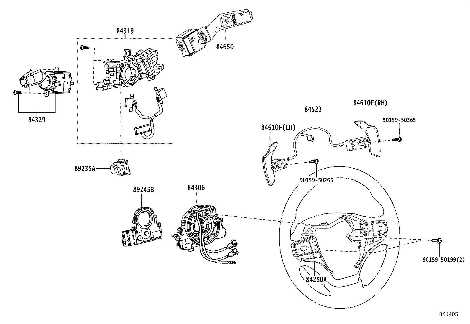 2008 Lexus Gps navigation control module. Engine, door