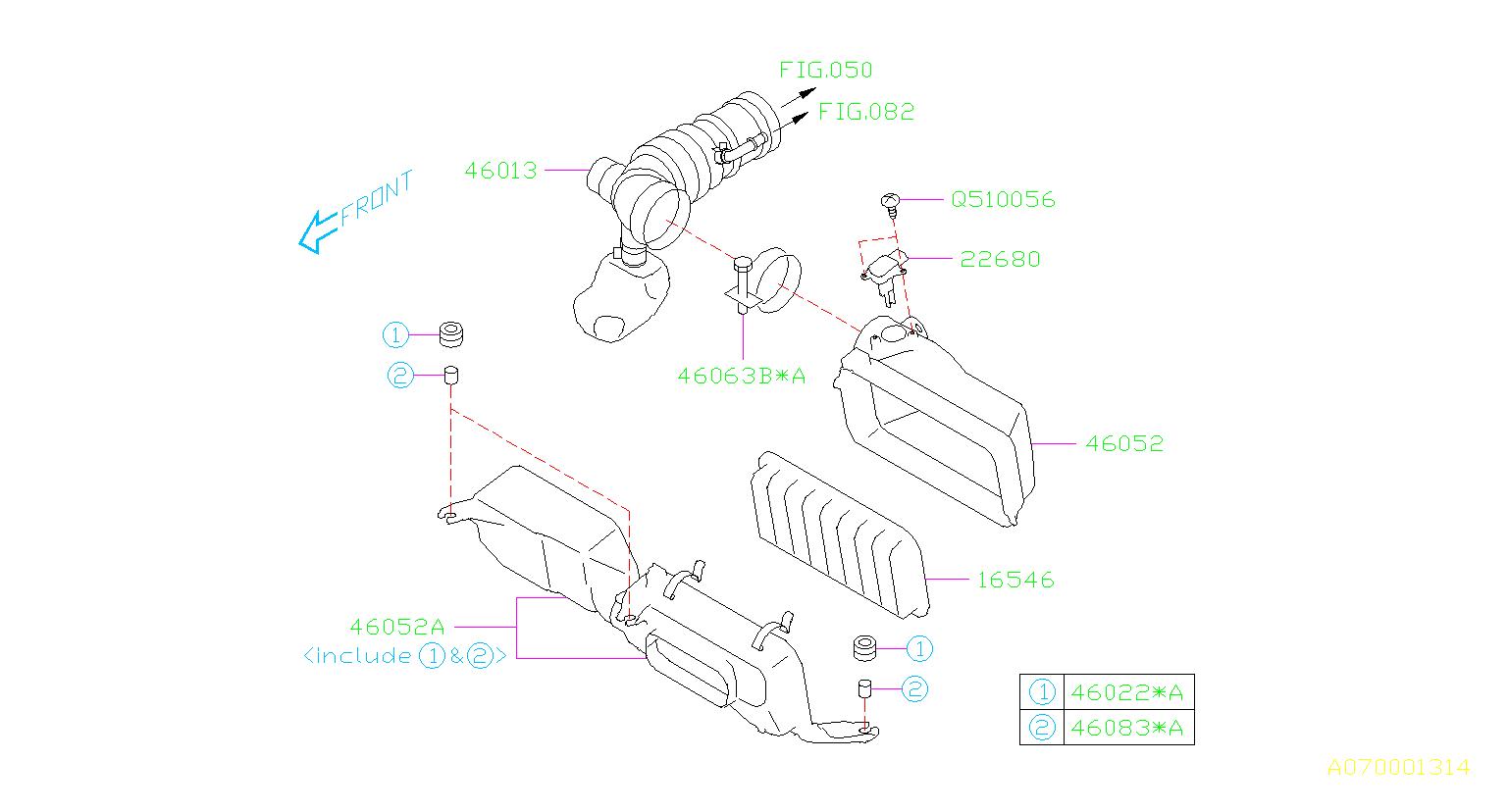 Subaru Brz Meter Assembly Air Flow Cleaner Element