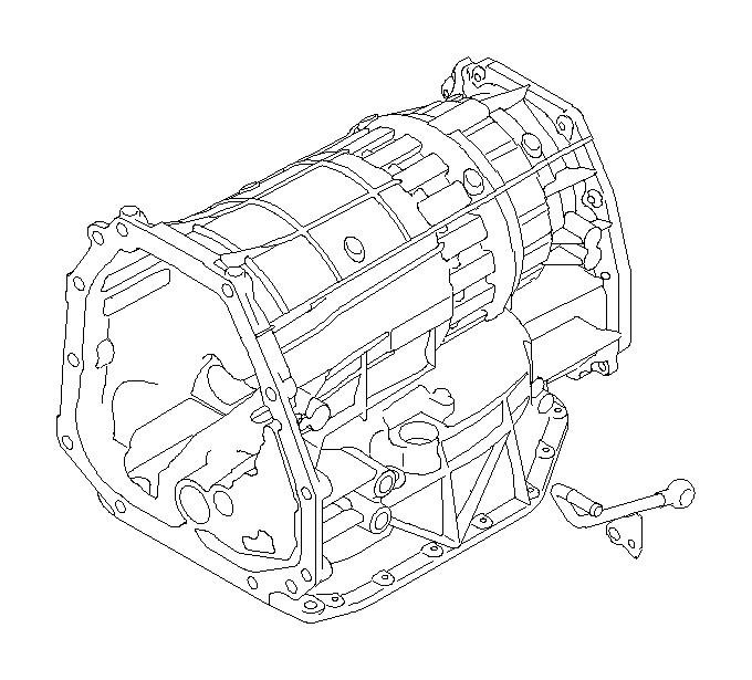 2007 Subaru Tribeca Gasket. Transmission, fitting, case