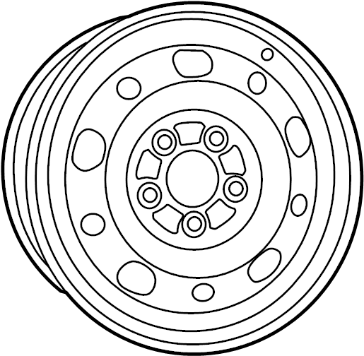 Toyota MR2 Wheel. Disc; disc (for spare). Brakes