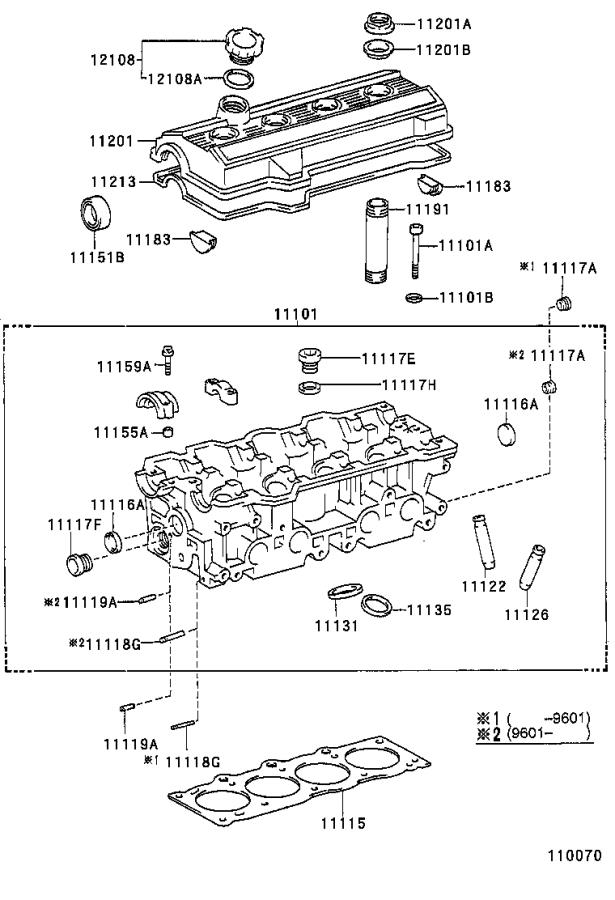 Toyota Celica Engine Cylinder Head Gasket. Kit