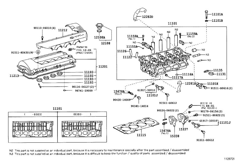 Toyota Celica Engine Valve Cover. Cover, Cylinder Head