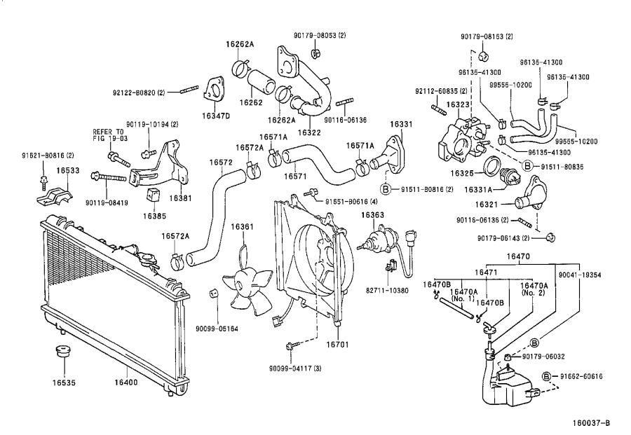 1993 Toyota Camry Wagon Engine Hose Diagram