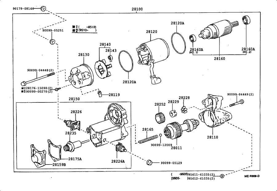 Toyota Camry Starter Solenoid. Switch, Magnetic. Engine