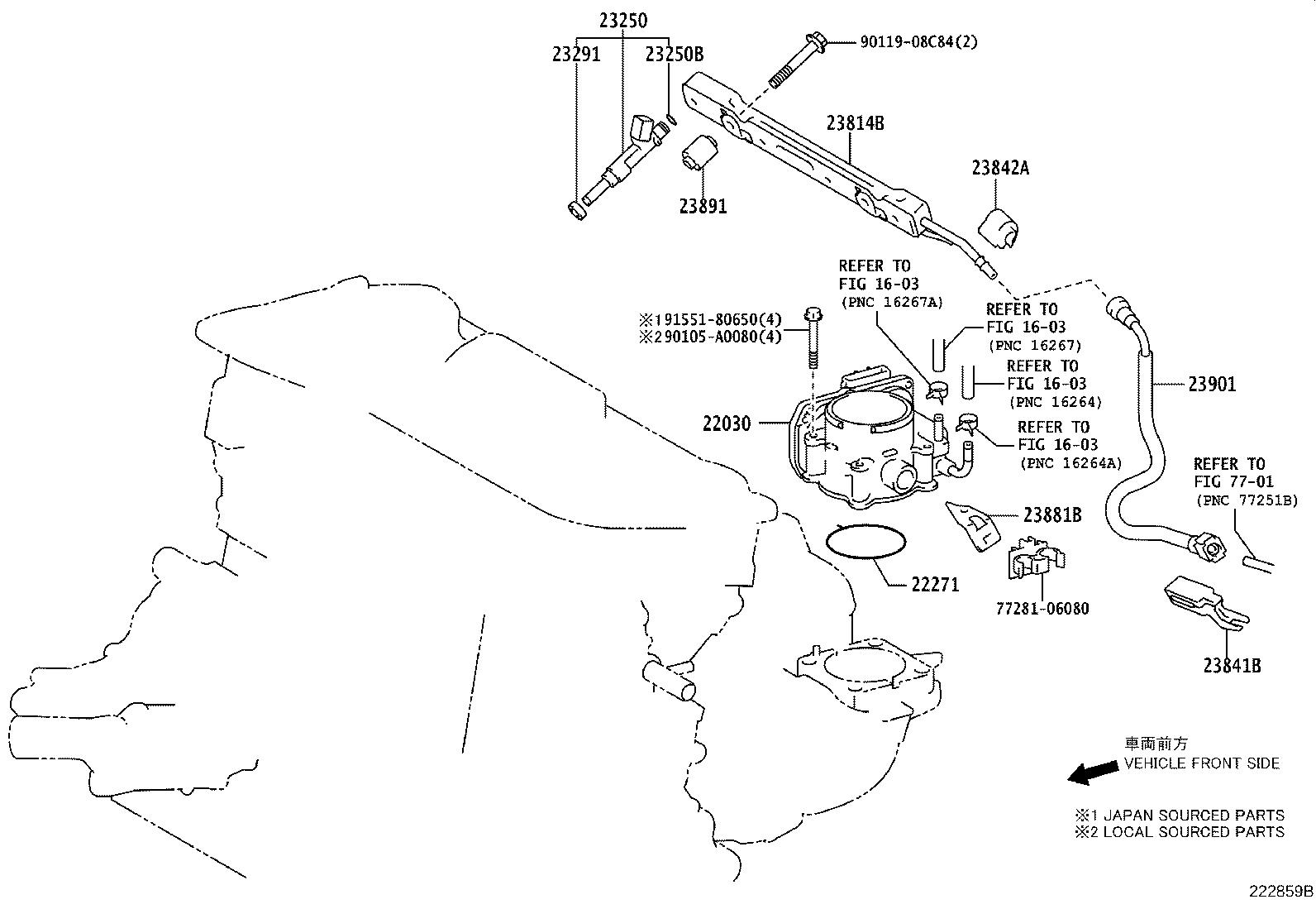 Toyota Avalon Tube Sub Assembly Fuel System Injection