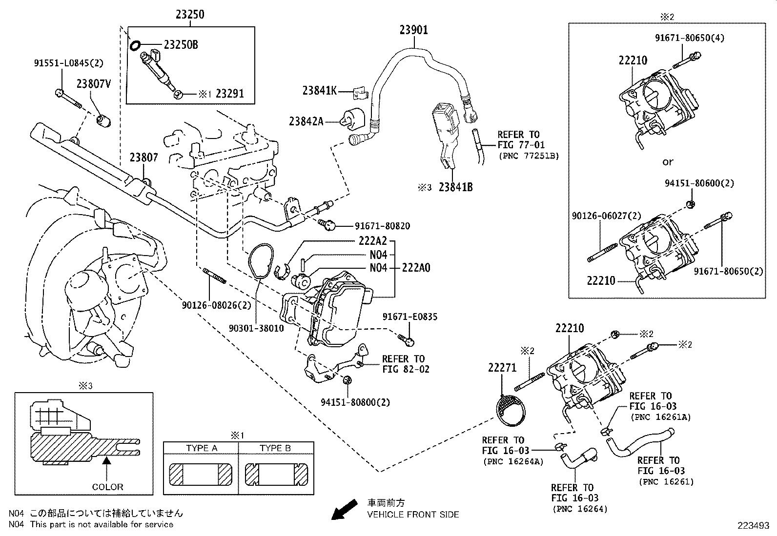 Toyota C Hr Body Assembly Throttle System Fuel