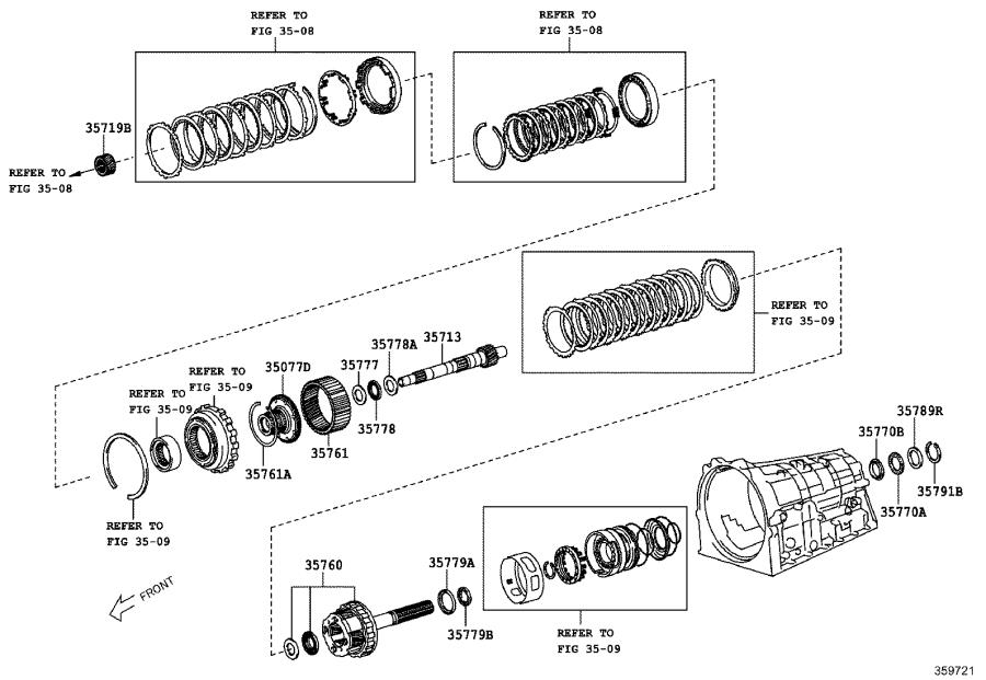 Toyota 86 Gear assembly, rear planetary. Transmission