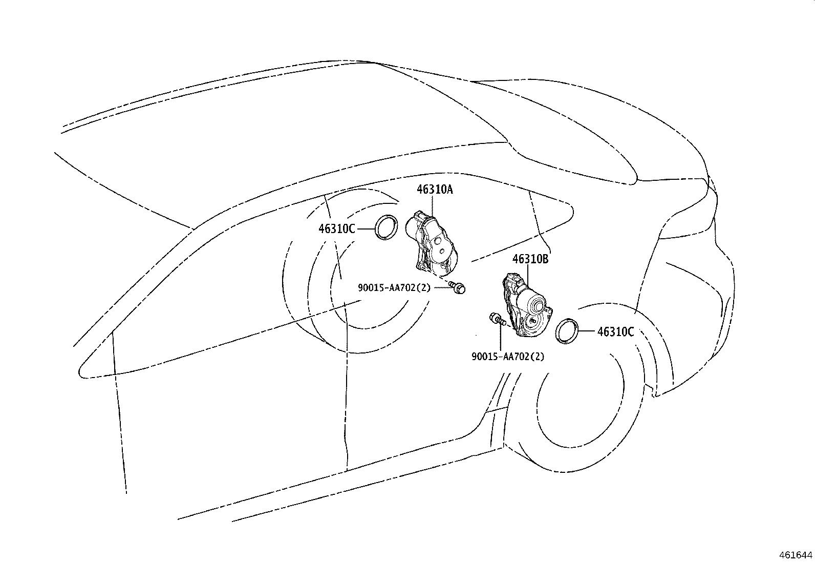 Toyota Corolla Nut, wire adjusting, no. 1. Brake, parking
